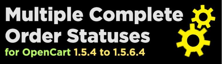 Multiple Complete Statuses