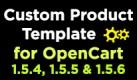 Custom Product Template