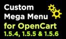Custom Mega Menu