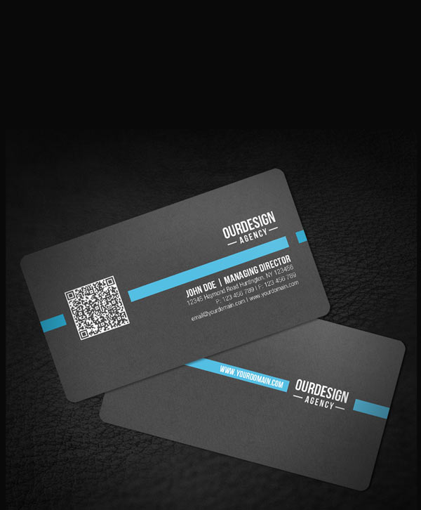 Business cards w rounded corners reheart